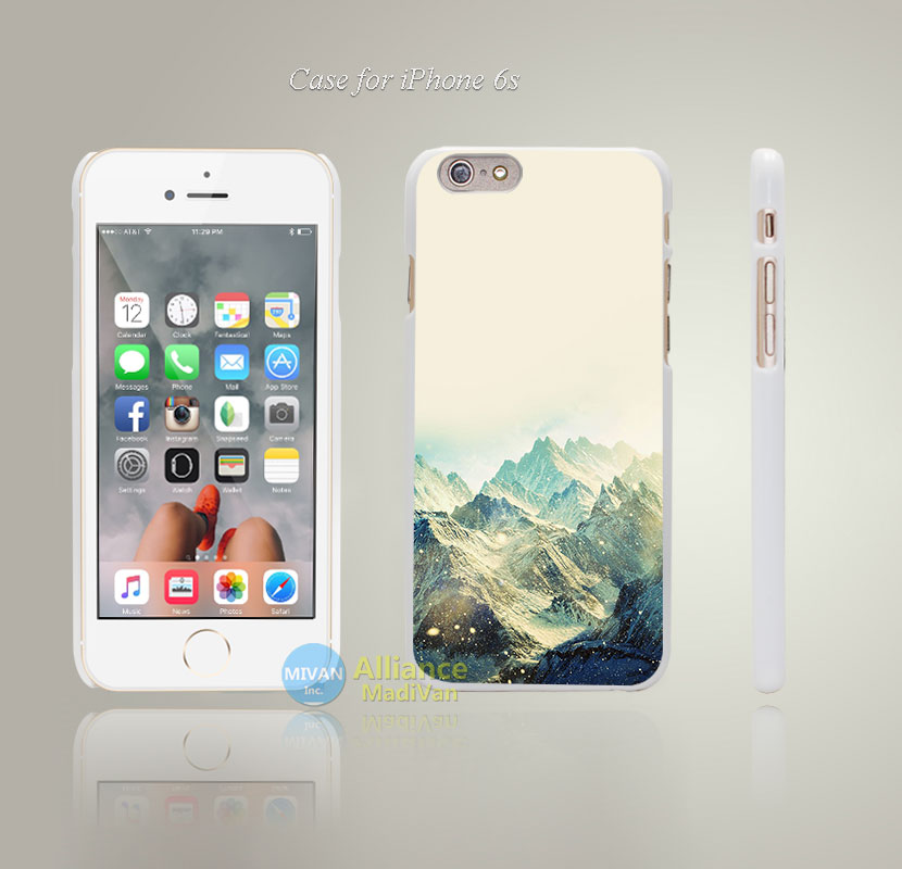 mf35 snow ski mountain love winter Style Hard White Case Cover Coque for iPhone 4 4s 4g 5 5s 5g 5c 6 6s 6 6s Plus(China (Mainland))