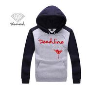 2015 Hot Sale Fashion Men's autumn winter Hoodies fleece print pullover sportswear sweatshirt diamond supply co M-XXXL
