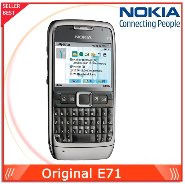 E71 Original Nokia E71 phones QWERTY Keyboard GSM 3G Wifi Bluetooth FM Radio phone Unlocked(China (Mainland))