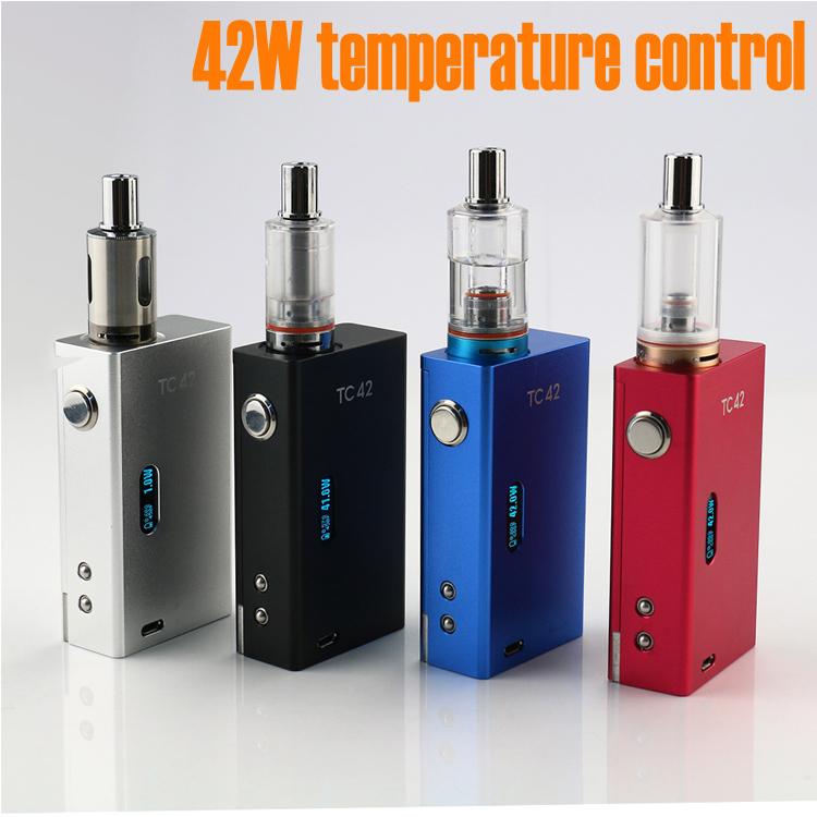 New KSD 42W temperature Control Mods Mechanical Box Mod For 18650 battery Electronic Cigarette box mod TC42<br><br>Aliexpress