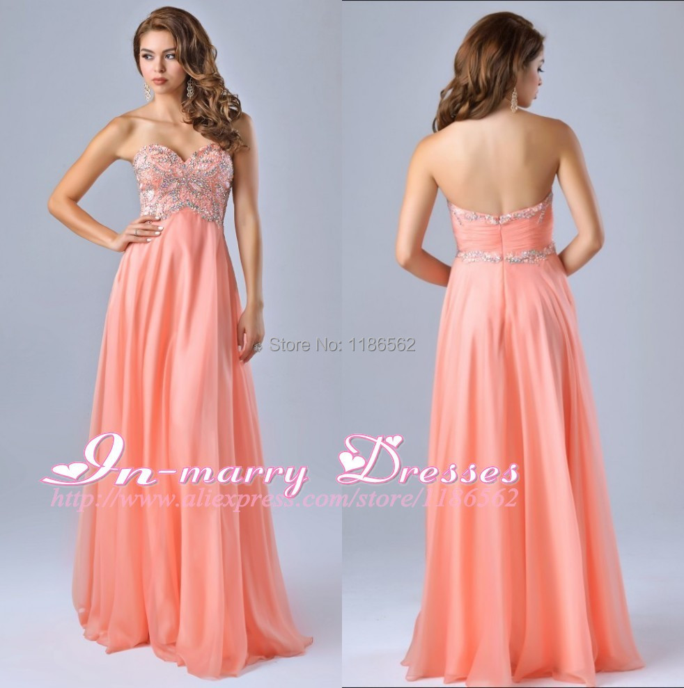 Empire Waist Long Dresses