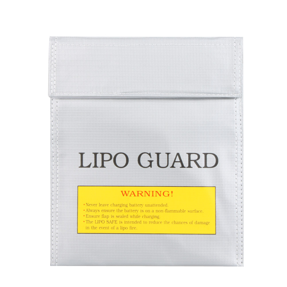High Quality RC LiPo Battery Safety Bag Safe Guard Charge Sack 22 * 18 cm Silver RC LiPo Battery Safety Bag(China (Mainland))