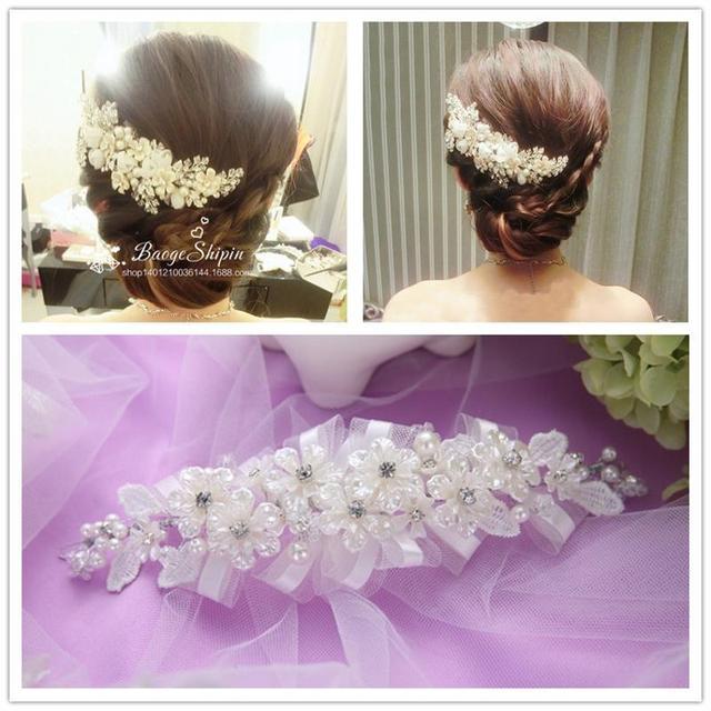 Bh35 мода ретро стиль женщины кристалл стразы серый бусины свадебные аксессуары шляпа