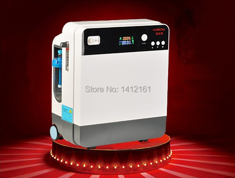 Wholesale - Factory supply portable oxygenerator durable Portable Oxygen Concentrator Generator Outflow Oxygen making machine<br><br>Aliexpress