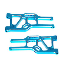 HSP 860003 Front Lower Suspension Arm (AL) Kit 2Pcs For 1:8 RC Car Model 94762 Spare Parts Free Shipping(China (Mainland))