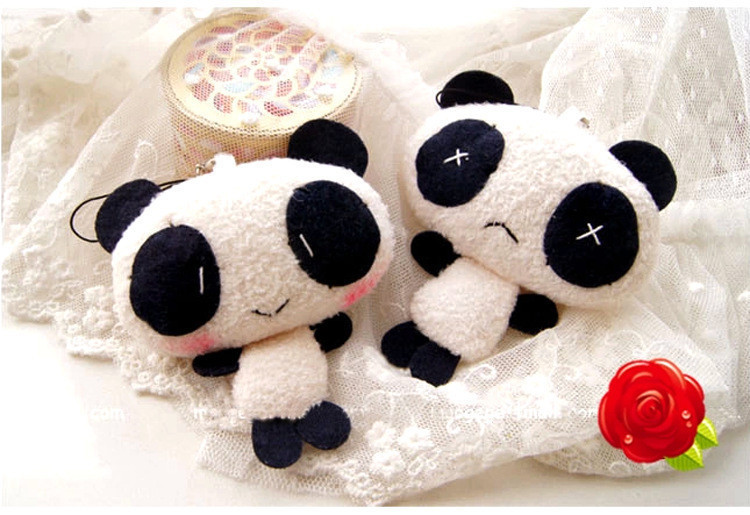 Kawaii Hot Korea Stuffed Anime Plush Toys The panda Pororo,Christmas Gift, Brand Toy panda Dolls, kid Gifts(China (Mainland))