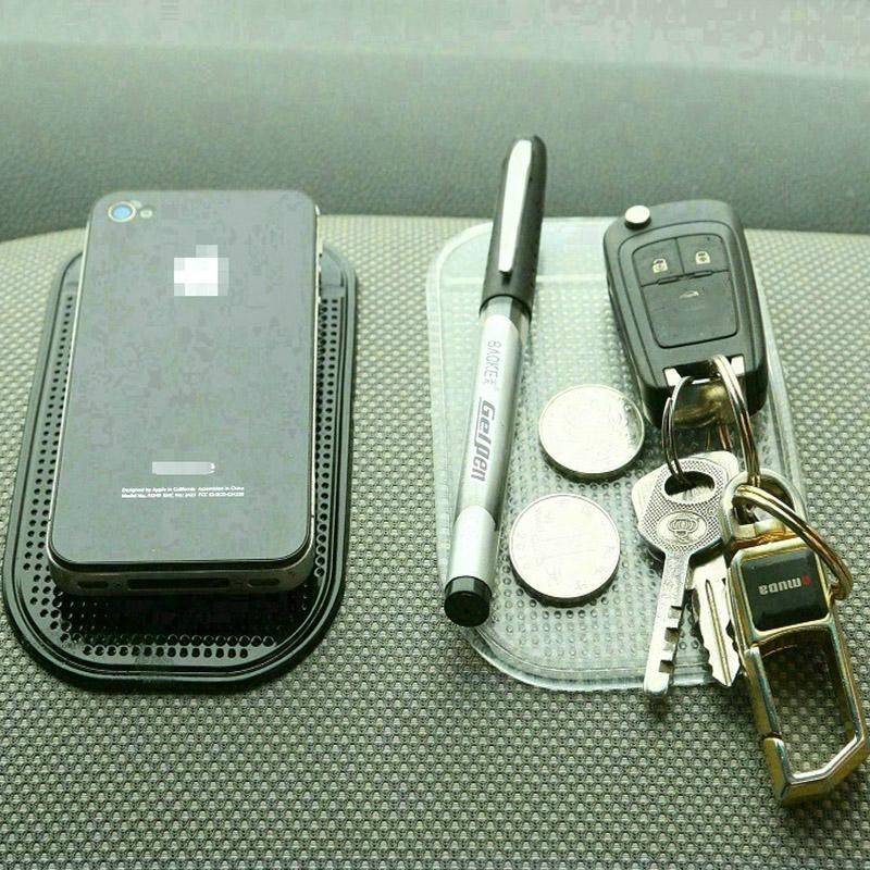 3D Car-styling Accessories Non-slip Car Phone Holder Magic Dashboard Sticky Pad Silicone Anti Slip Mat(China (Mainland))