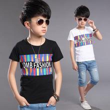Baby Boy Clothes Teenage Boys Clothing Car-styling T Shirt Kids Tshirts Boys Good quality4-12 years old Boy T-Shirt
