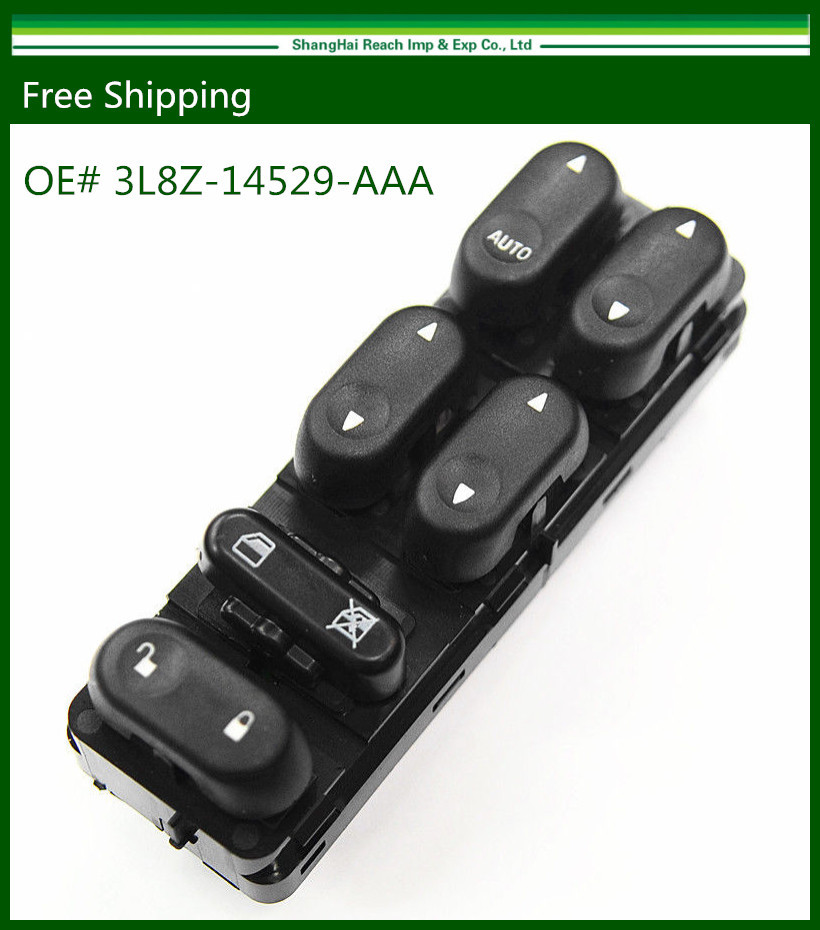 New Power Window Master Switch For Ford Escape Marine r/ 2001-2007 Mazda Tribute 3L8Z14529AAA 3L8Z-14529-AAA(China (Mainland))