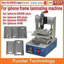 New LCD Screen Frame Laminator Hot Pressure Bracket Laminating Machine for iPhone6 / 6S 6plus Screen Bezel 4/4S 5/5S/5C Mould(China (Mainland))