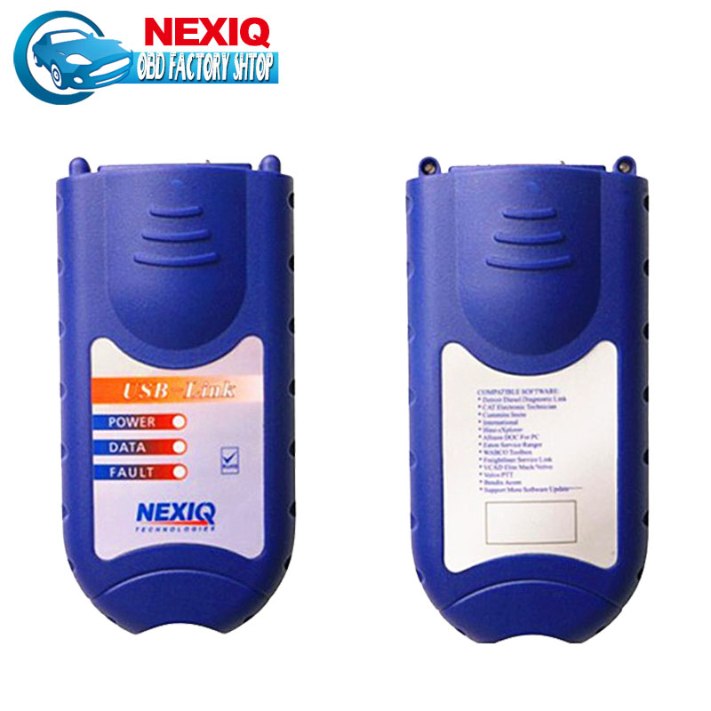 Promotion 2016 Top quality Software Diesel Truck Diagnose Interface Professional Auto scan tool NEXIQ 125032 USB Link(China (Mainland))
