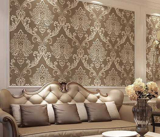 Grey luxury wallpaper for Luxury 3d wallpaper
