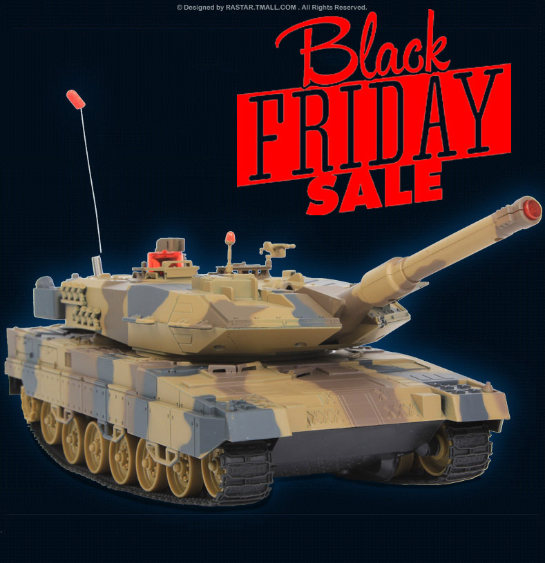 Black Friday ! HuanQi 508 Infrared Remote Control 27MHz  Track Battle rc Tank Sound Of Cannon And Emmagee rc tank With Light