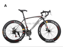 New High Fashion Mans XC550 Road Bike Black White 21 Speeds Road Bicycle(China (Mainland))