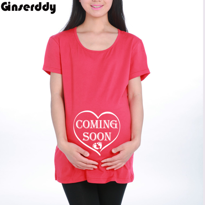 2015 fashion latest funny t shirt ladies christmas gift for Funny christmas maternity t shirts