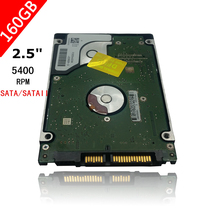 "A++++ 2.5"" HDD HD Interno 2.5 "" HDD SATA 160gb 5400 Rpm Laptop Hard Drive Disk free Shipping(China (Mainland))"