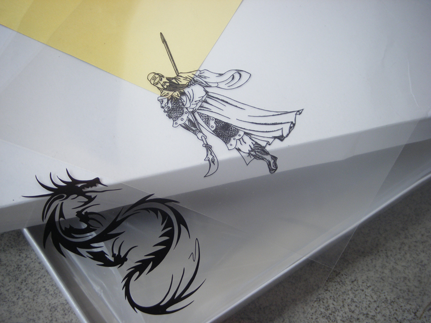20 sheets A3 Inkjet & Laser Printing Transparency Film For Plate Making Screen Printing Pad Printing(China (Mainland))