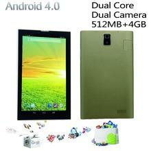 Phone call tablet pc Mini tab pc Dual core Dual camera 2G phone call  2SIM card 7 inch android4.4 tablets pc wifi fm bluetooth