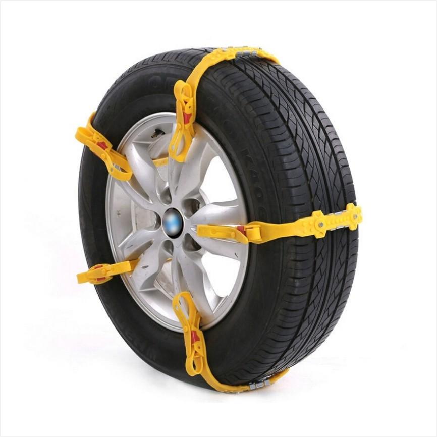 5Pcs/Lot Universal Adjustable Auto Car SUV Snowblower Tire Snow Chains Mug Ice Road Ground Anti Wheel Slip Chain For 165-265 mm(China (Mainland))