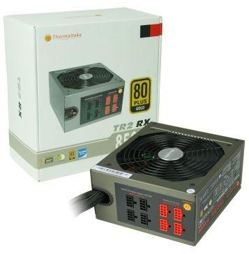 ThermalTake TT 850W 100~240VAC input half modular ATX PC power supply unit PSU TR2 RX TRX-850M(China (Mainland))
