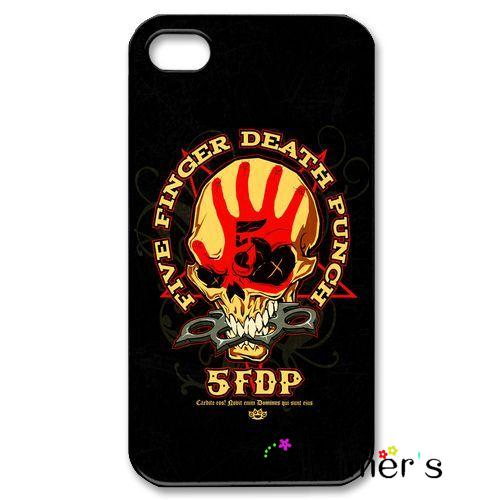 Five Finger Death Punch Skull Herren Band phone case cover for iphone 4s 5s 5c 6s plus Samsung Galaxy S3/4/5/6/edge+ Note2/3/4/5(China (Mainland))