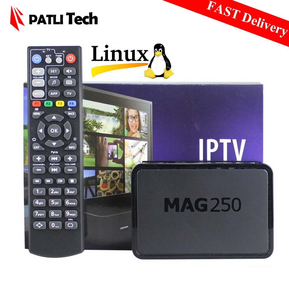 Best Linux IPTV box, Mag 250 ip tv set top box, Media player support Wifi / Cable / Usb Driver, Not include IPTV account, mag250(China (Mainland))