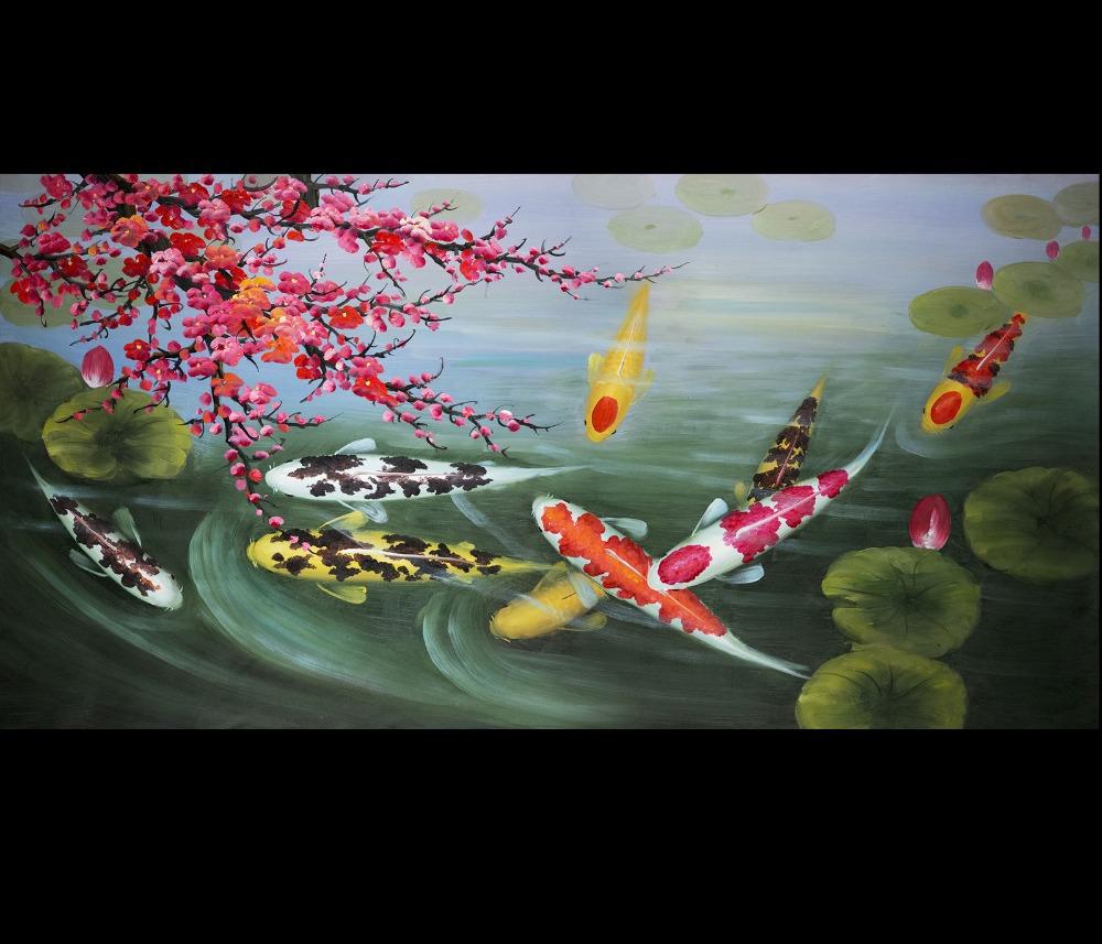 Peintures koi japonais achetez des lots petit prix for Prix koi japonais