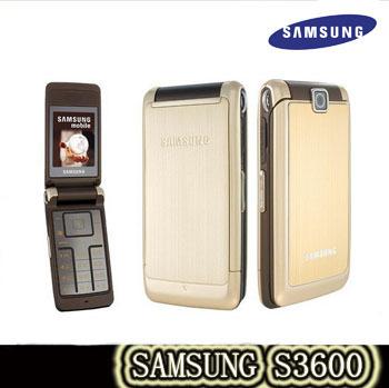 S3600 Unlocked Original Samsung s3600 Mobile Phone MESSAGE VIDEO PLAYER qwerty card slots FreeShipping Russian language keyboard(China (Mainland))