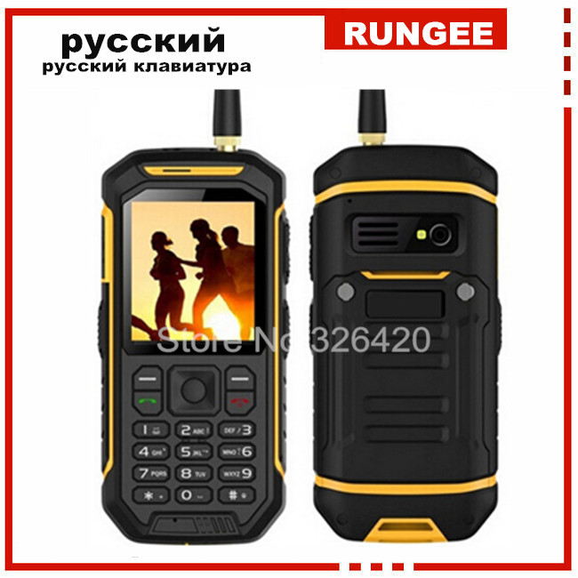 Original X6 sunlight LCD GSM Senior old man IP67 Rugged Waterproof shockproof phone Walkie talkie cell phone Dual sim A12 H3 W3(China (Mainland))