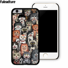 Funny Cute Cat Because Cats Phone Case for lg g3 g4 stylus g5 k7 k10 l70 l90 nexus 5x 6 7 mobile phone accessories