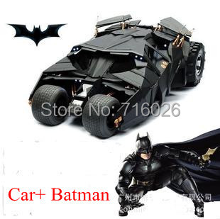 2015 NEW Dark Knight Movie Black Robot Vehicle Car + Action Figure Batmobile Batman Super Hero Toy Baby Toys Gift - Future Star Trading Co.,Ltd store