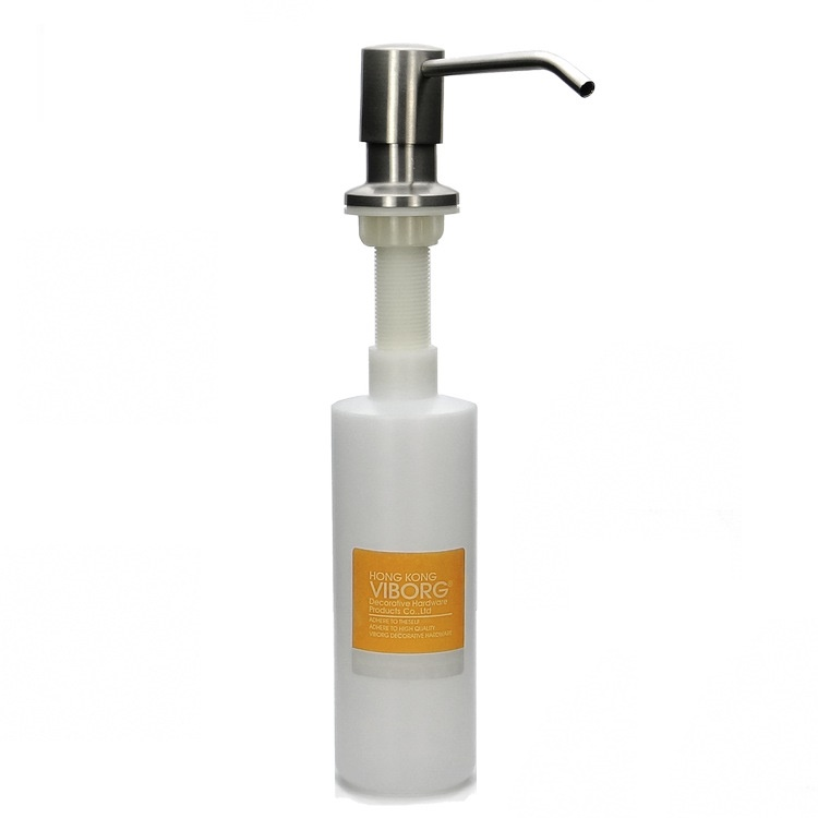 ... Kitchen Sink Soap Dispenser Liquid Soap Dispenser,SATIN NICKEL BRUSHED