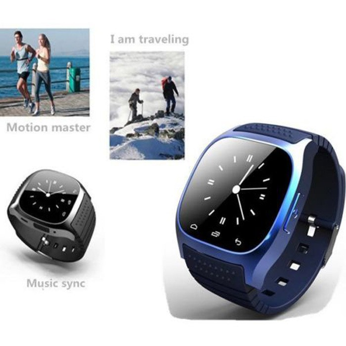 NEW Life waterproof M26 smart Bluetooth watch digital-watch rubber silicon case android watch wearable devices(China (Mainland))