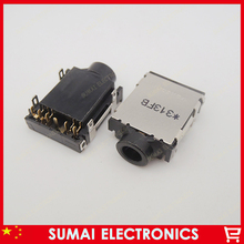 Free shipping 35pcs 3.5mm Laptop Audio Jack,headphone jack for Dell SONY SAMSUNG ect(China (Mainland))