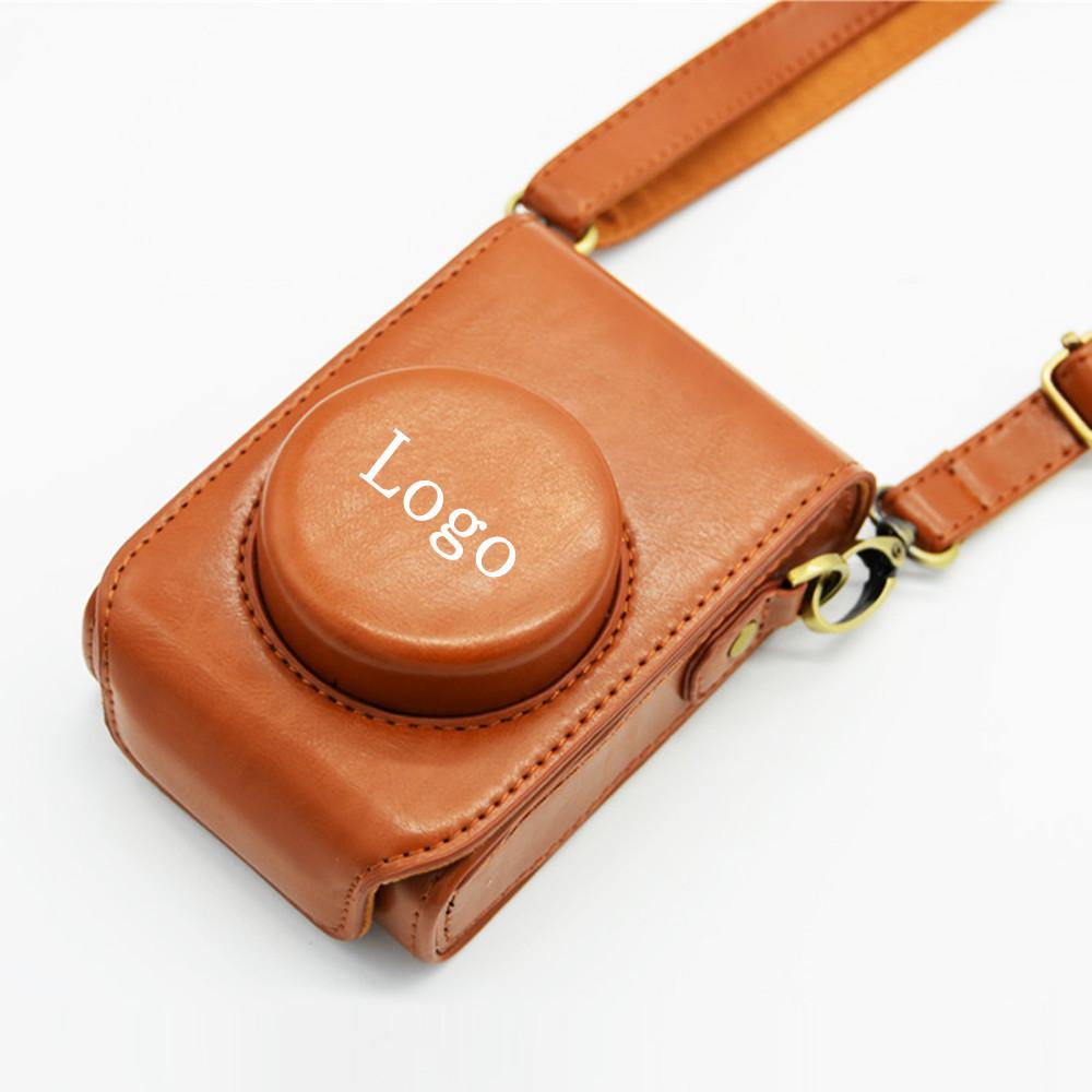 Free shipping Good quality Leather Camera Bag Case Cover for Panasonic Lumix DMC LX7 LX5 LX3(China (Mainland))