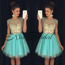 2017 New Arrival Real Sweet Cocktail Dresses vestido de festa curto Strapless Open Back Beading Lace Up Mini Party Gowns(China (Mainland))