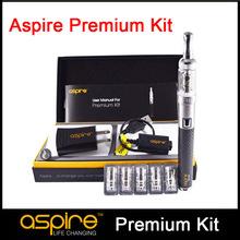 Authentic Aspire Premium Kit E Cigarette kit Nautilus Mini BVC Tank Pyrex Glass BVC Atomizer 1000mAh Aspire CF VV+ Battery (MM)