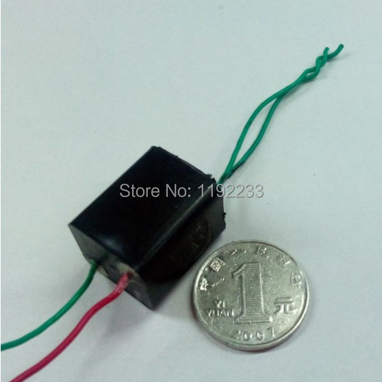 Small Size Square 3.6V High Pressure Generator Module High Pressure Igniter 1.5A Output High Voltage 20KV(China (Mainland))