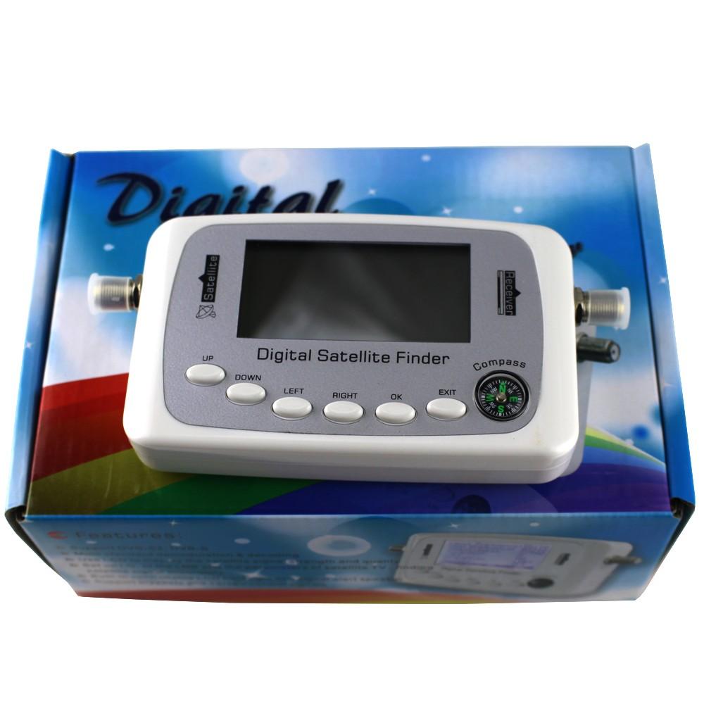 Anewish Digittal Finder SF-500A DVB-S DVB-S2 Difital Satellite Signal Meter Finder SF500(China (Mainland))