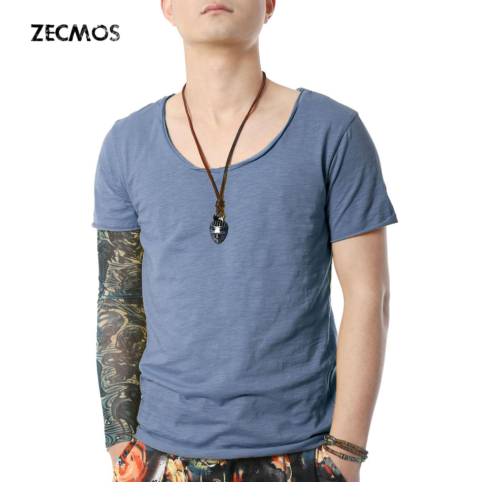 Muscle tee shirts for Tight collar t shirts