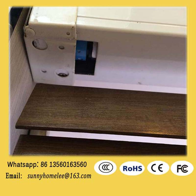 window treantment, custom window shade, motorized wooden venetian blind(China (Mainland))