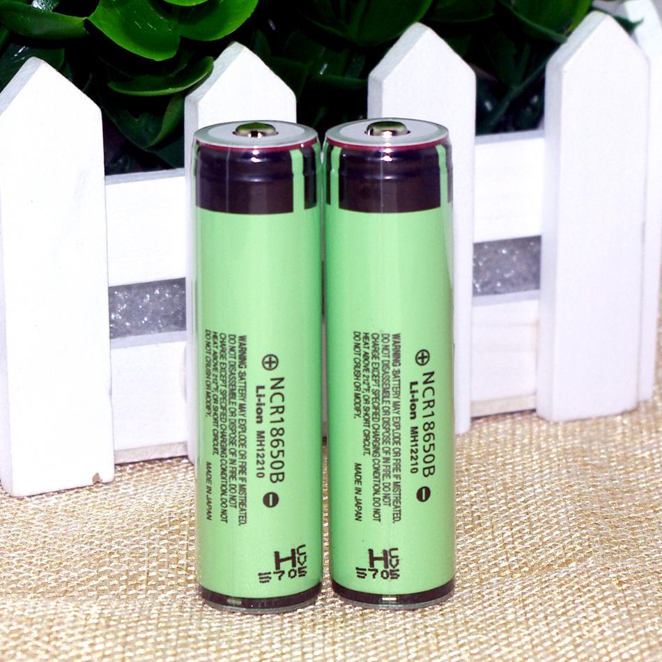 100% New Original Panasonic 18650 3400mah 3.7V Li-ion Rechargebale Battery + protection board - Shenzhen Yinqian Store store