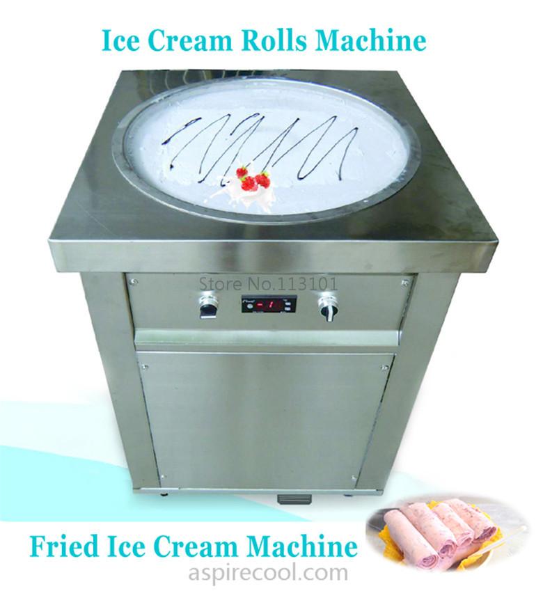 how to make fried ice cream machine