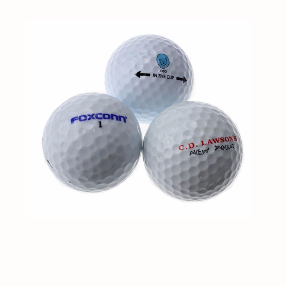 OEM Custom Logo two layer Tournament Golf Ball Two Piece Golf Match Ball size 42.67 mm(China (Mainland))