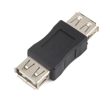 10pcs USB Female to Female Extension Adapter Converter #682