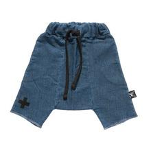 2015 new nununu knee length baby harem pants cross print new arrivals terry shorts 3 color boys shorts(China (Mainland))