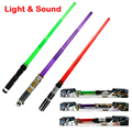 33Inch Foldable Star Wars laser sword with Sound and Light classic Star Wars lightsaber toy for
