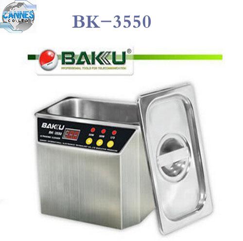 New BAKU BK-3550 110V / 220V Stainless Steel Ultrasonic Cleaner For Communications Equipment Cleaning Tool Machine(China (Mainland))
