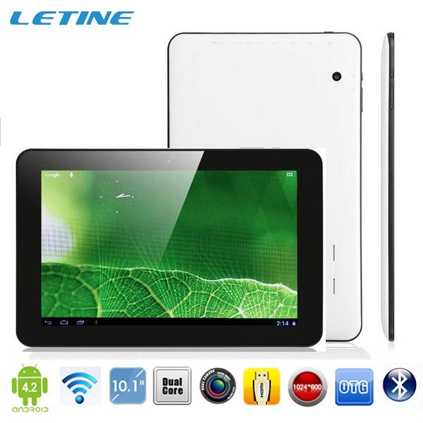 2pcs/lot Dual Core Allwinner A23 Cortex A8 bluetooth 6000mah 1GB/16GB dual camera  android 4.2 10 inch tablet pc