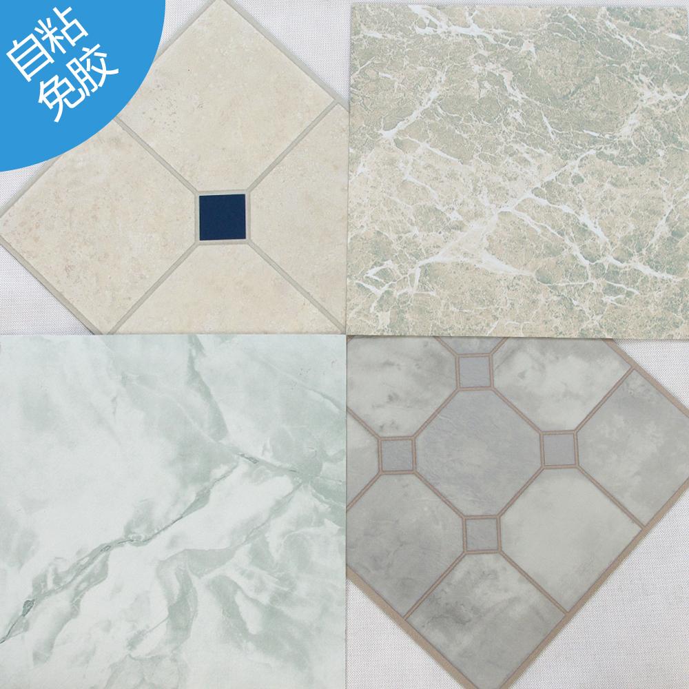 Stile selezioni 12-in x 12-in tumbled pietra peel-and-stick finitura in vinile ardesia piastrelle autoadesivo marmo/piastrelle per pavimenti in legno pvc(China (Mainland))